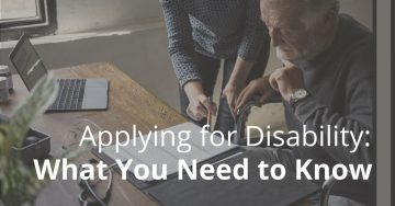 blog image of a disabled person in the workplace