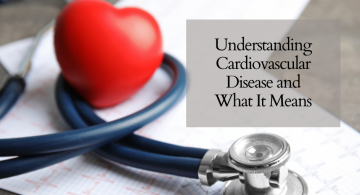 blog image of stethoscope, ekg charts, and heart prop